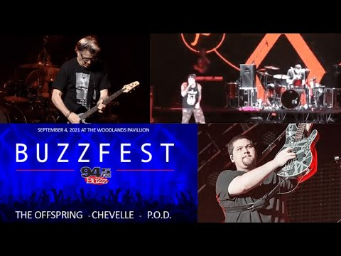 2021 BUZZFEST! he Offspring, Chevelle, P.O.D., Candlebox and Mammoth WVH!
