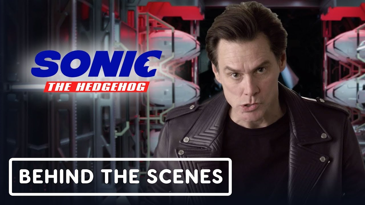 Sonic The Hedgehog - Jim Carrey oficial detrás de escena (Dr. Robotnik) + vídeo