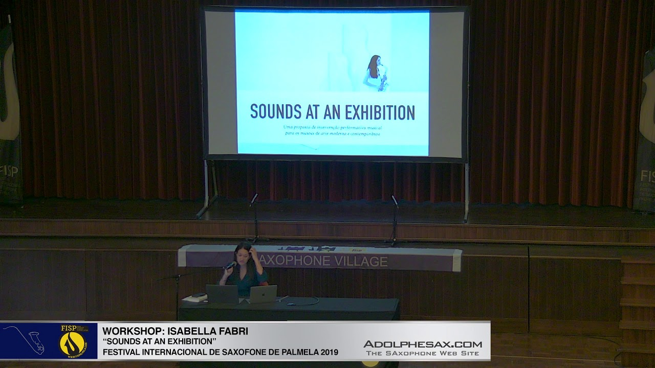 "FISPalmela 2019 - Isabella Fabri - Conference ""Pictures at an exhibition"""