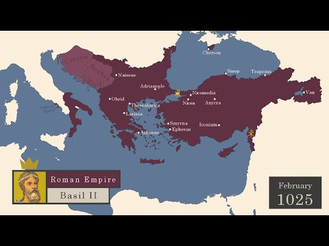 The History of the Byzantine Empire : Every Month