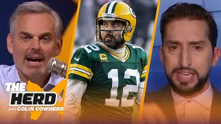 Packers should trade Love; Brady's Bucs won't make Super Bowl again - Nick Wright | THE HERD