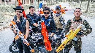 LTT Game Nerf War : Warriors SEAL X Nerf Guns Fight Criminal Group Inhuman Release Anger