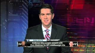 UFC Confirms Weidman Silva Rematch thumbnail