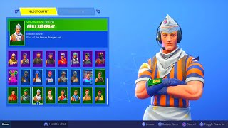 New rare skin in fortnite... (grill sergeant)