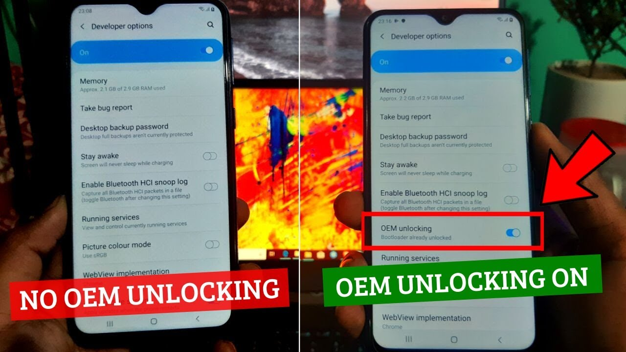 Samsung OEM Unlock Enable [ Android 9 0 Pie Any Model ]