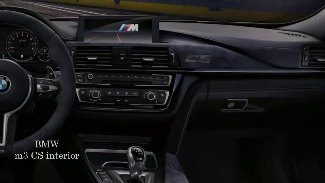 New 2018 Bmw M3 Cs Interior Youtube