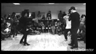 RIZEN - Gravez( LES TWINS MUSIC) Larry Freestyle at RBH
