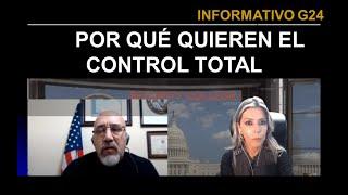 #G24 Así quieren controlar Nuevo Orden Mundial -Hoy  con Arturo Grandón