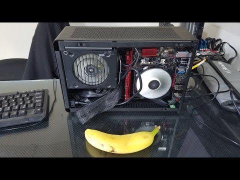 We finally got to build a DAN SFF ITX case!
