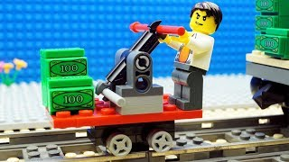 Lego Train Money Fail