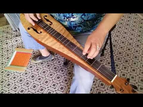 Bach's Minuet in G Major on Mountain Dulcimer