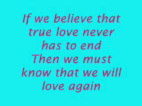 I still believe - Mariah Carey & Celine Dion [lyrics]