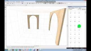 Как сделать арку в PRO100?)