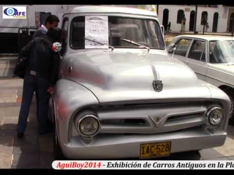 AguiBoy2014 - Exhibición de Carros Antiguos - YouTube