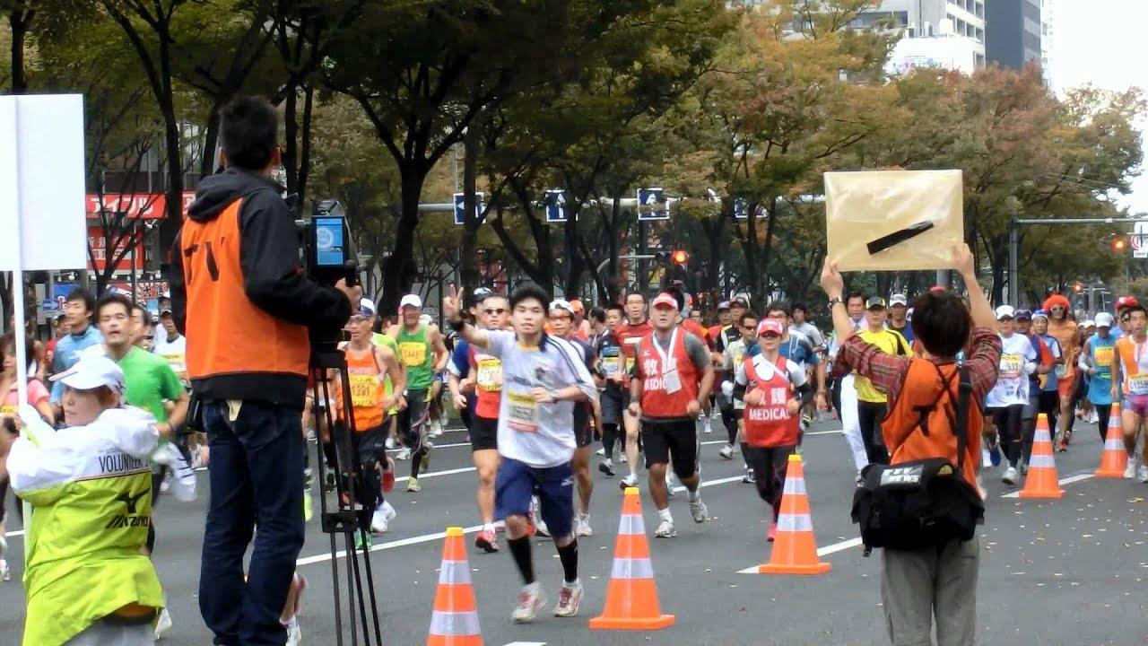 第1回大阪マラソン2011 上本町〜...