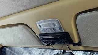 Плафон освещения салона Приора Люкс на ВАЗ 2101 -  Желтая копейка, часть 3