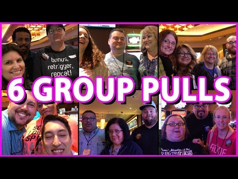 🎰 ➡ 6X HIGH LIMIT Group Pulls! 👫💰 ✦ Join @ BrianGambles.com ✦ Slot Fruit Machine Pokies w Brian C