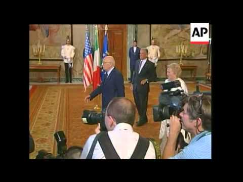 President Barack Obama is now in Italy to take part in the G8 Summit. Topics at the summit will incl