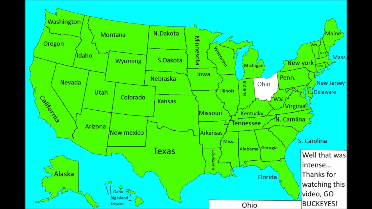 Alternative Future Of The United States Of America Part 1 Youtube - Alternate-us-map