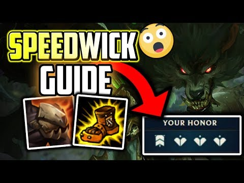 NEW WARWICK SPEED BUILD! Hard Carry Warwick Commentary Guide - League of Legends
