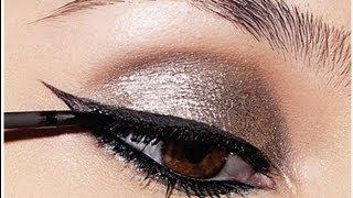 Como delinearte los ojos como una maquilladora profesional (How to eyeline your eyes like a pro)
