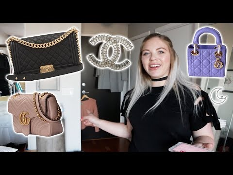 My Closet Confidential Tag! Dior, Chanel, Gucci & More! Clothing, Bags, & Shoes