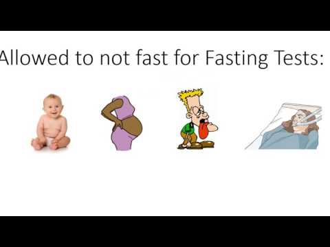 Why Fasting Before Blood Test?
