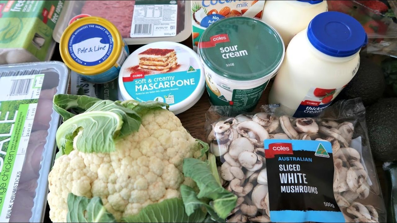 Best Low Carb Foods - Keto Diet Grocery Haul - YouTube