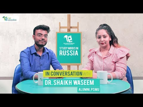 Perm State Medical University Alumnus in conversation with Rus Education