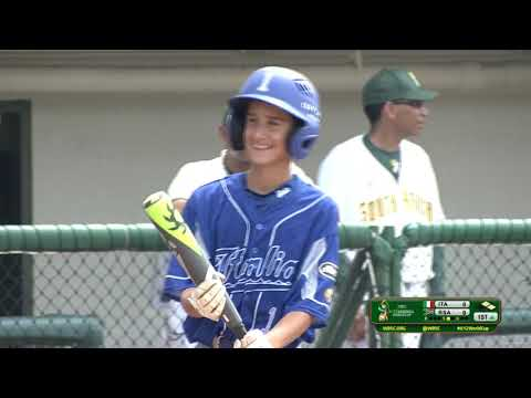 Italy v South Africa - U-12 Baseball World Cup 2019 - Placement Round