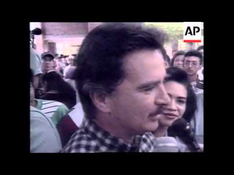GUATEMALA: GUATEMALA CITY: PRESIDENTIAL ELECTIONS