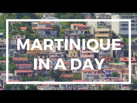 How to See Martinique in 1 Day - Discover Martinique from a