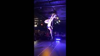 Maddie Sparkle water show at Pole Superstar Competition