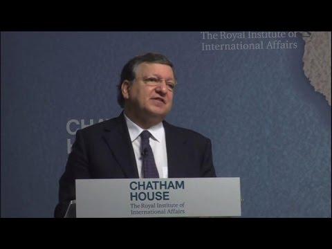 """Londres ferait une """"erreur historique"""" (Barroso)"""