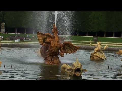 Fountain at Palace of Versailles