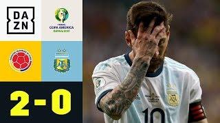 Fehlstart für Lionel Messi und Co.: Kolumbien - Argentinien 2:0 | Copa America | DAZN Highlights