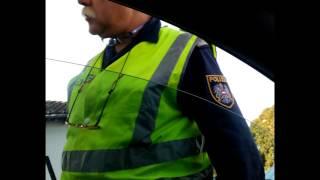 Kontrolle der Polizei