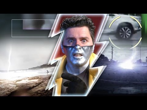 Captain Disillusion: Australian Lightning DOUBLE DEBUNK