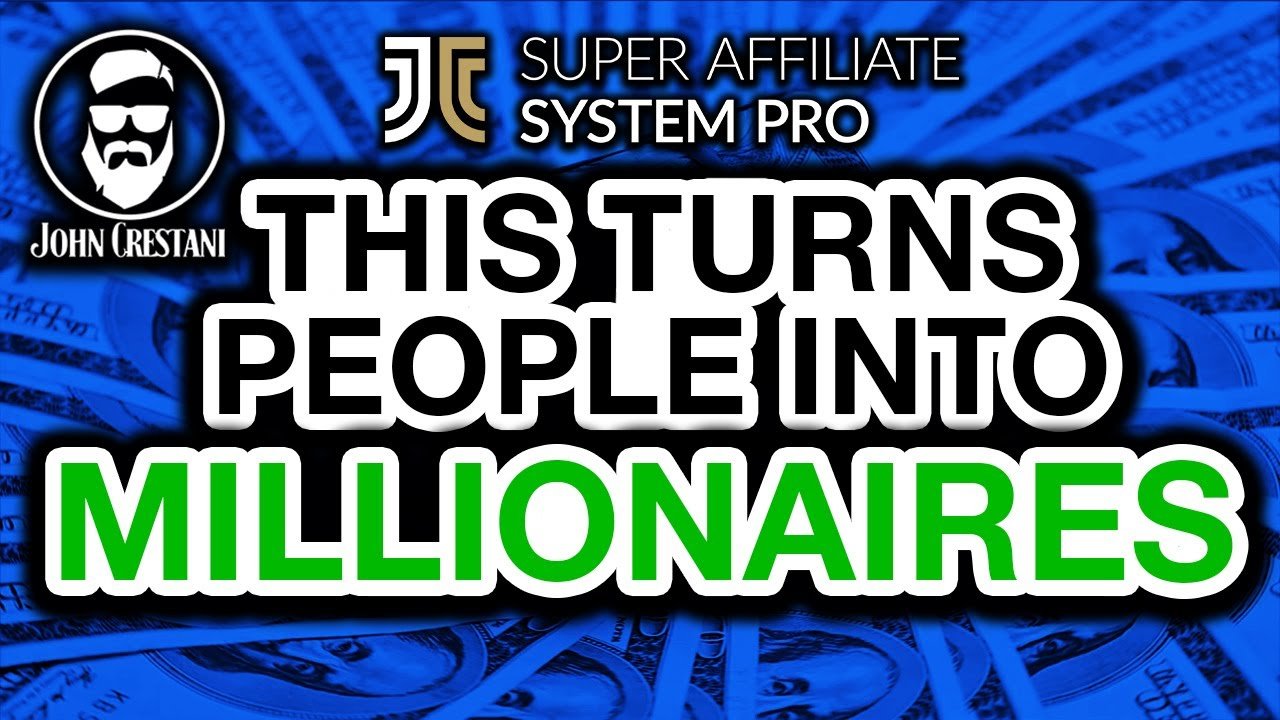Super Affiliate System Pro Review By John Crestani