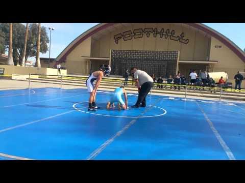 Angel Calderon 2015 outdoor match