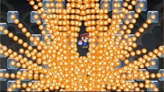 【実況】 どう見てもやりすぎなファイアーバー【スーパーマリオメーカー】