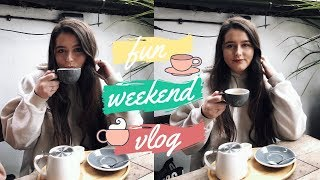 FUN WEEKEND VLOG | Drunken Live Streams + Brunching!