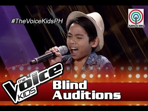 """The Voice Kids Philippines Blind Auditions 2016: """"It Will Rain"""" by Al Vincent"""