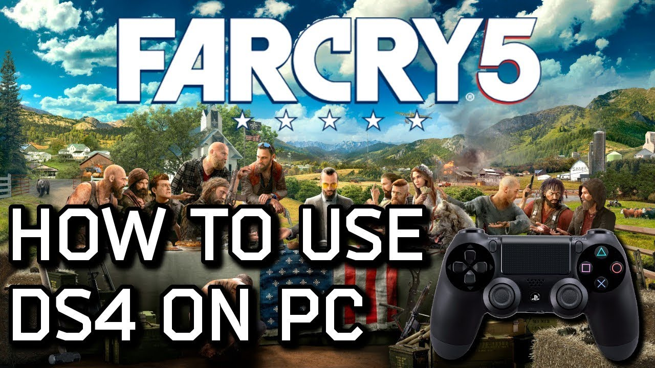 How To Use DualShock 4 With Far Cry 5 On PC (Including Button Prompts)