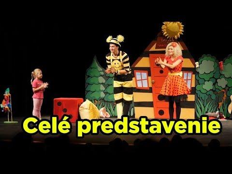 Smejko a Tanculienka - Čáry Máry Fuk v Praze | celé predstavenie