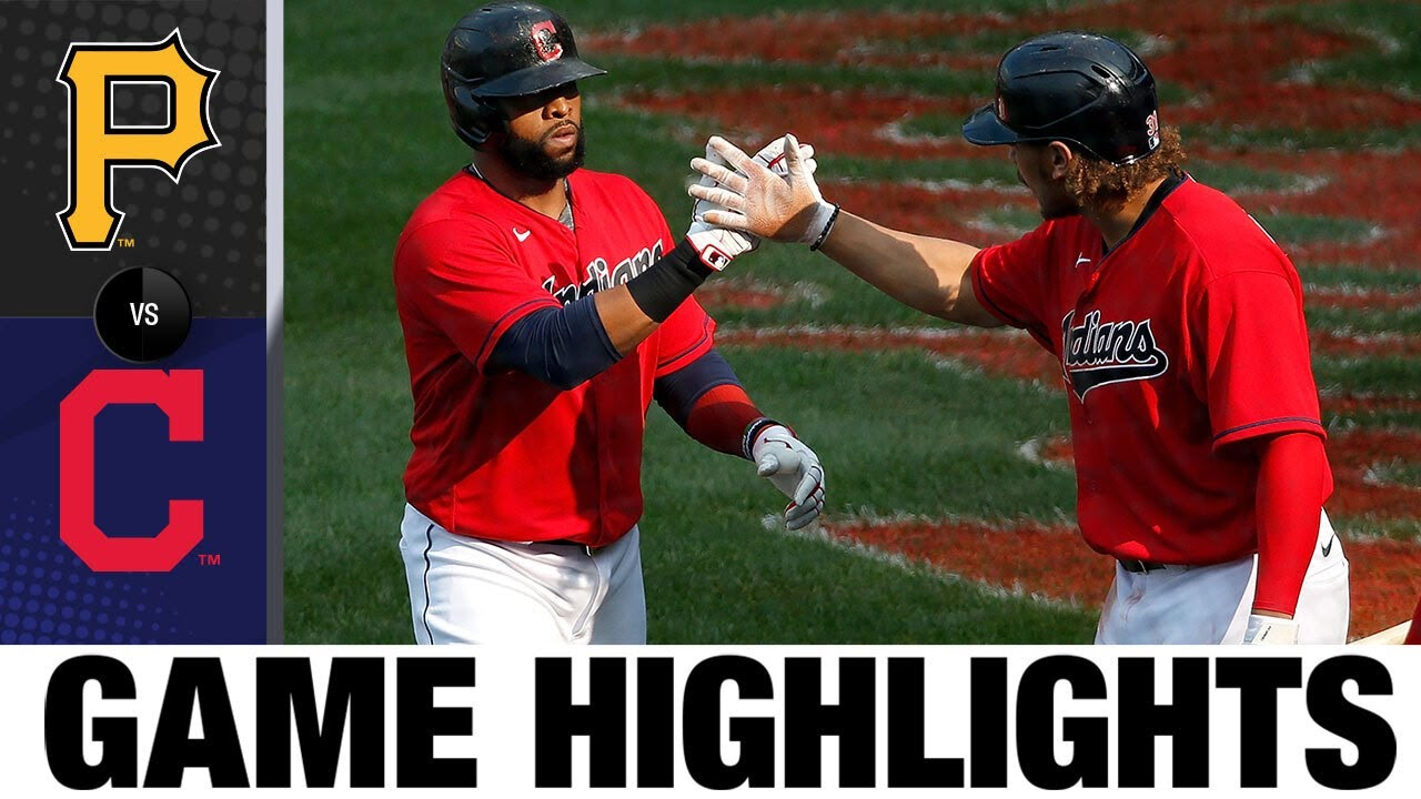 Indians come back to win on the season's final day   Pirates-Indians Game Highlights 9/27/20
