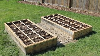 Creating A Raised Bed Garden Using Pallet Wood - 100% Free!
