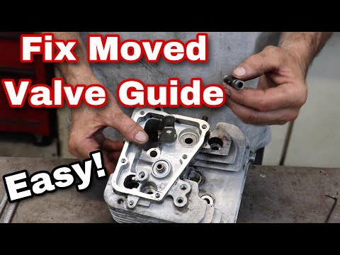How To Fix A Valve Guide That Moved - with Taryl