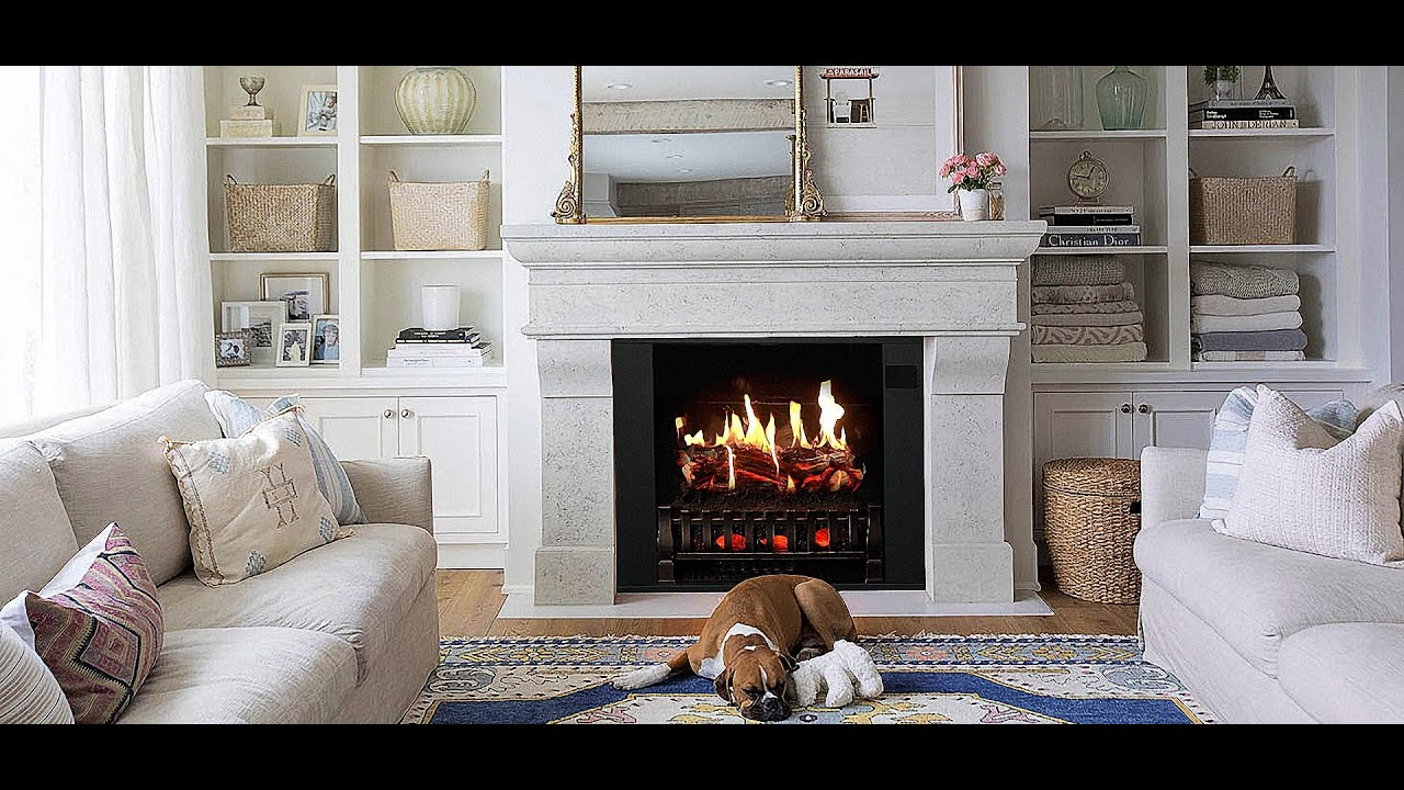 Real Looking Electric Fireplace Real Flame Electric Fireplace Video