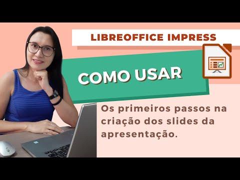 Видео Como criar apresentação de slides